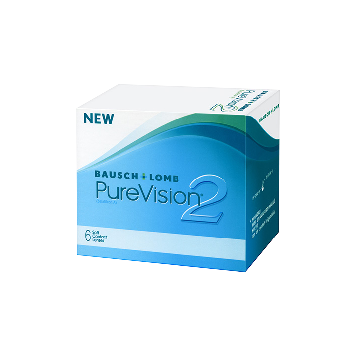 Bausch & Lomb Purevision 2HD 6 Pack