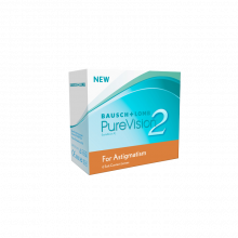 Bausch & Lomb PureVision 2 for Astigmatism 6 Pack